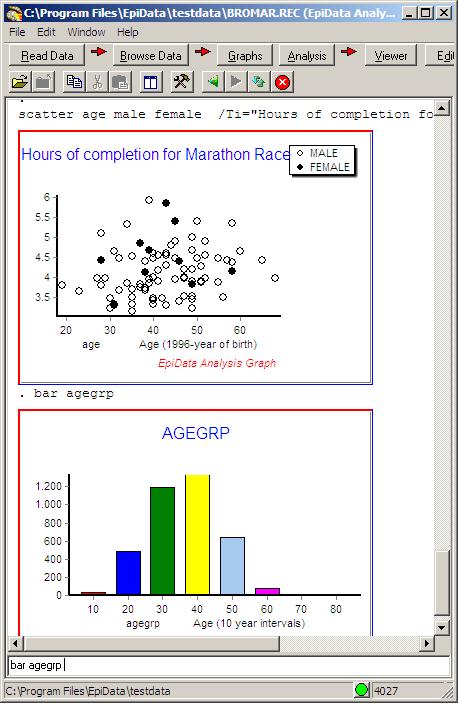 logiciel epidata analysis